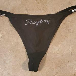 Playboy licensed thongs